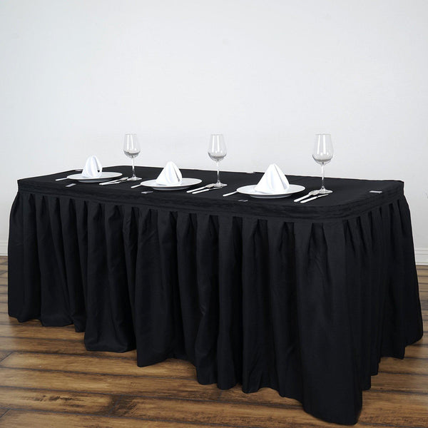 Black Table Skirts For Sale