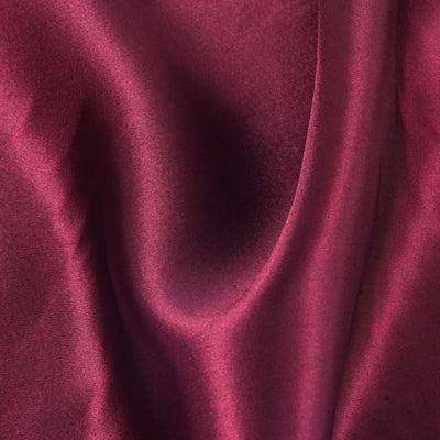 "12"" x 10 Yards Burgundy Satin Fabric Bolt"