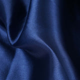 "12"" x 10 Yards Navy Blue Satin Fabric Bolt"