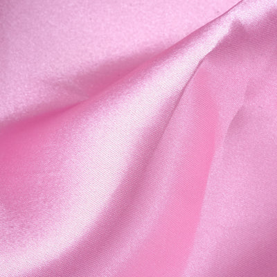 "12""x10 Yards Pink Satin Fabric Bolt"