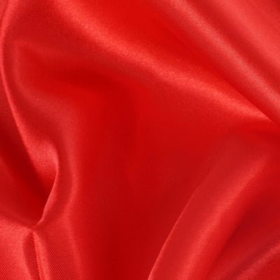 "12""x10 Yards Red Satin Fabric Bolt"