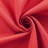 "90""x156"" Red Polyester Rectangular Tablecloth"