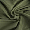 "120"" Moss Green Polyester Round Tablecloth"