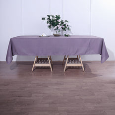 60x102 inch Violet Amethyst Polyester Rectangular Tablecloth