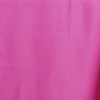"60x102"" FUSHIA Wholesale Polyester Banquet Linen Wedding Party Restaurant Tablecloth"