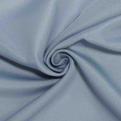 "60""x126"" Dusty Blue Polyester Rectangular Tablecloth"