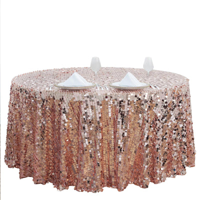 "120"" Big Payette Rose Gold 