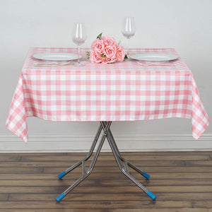 "Buffalo Plaid Tablecloths | 70""x70"" Square 