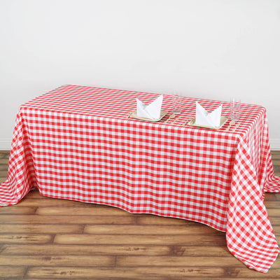 "Buffalo Plaid Tablecloth | 90""x132"" Rectangular 