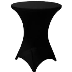 Black Cocktail Spandex Table Cover