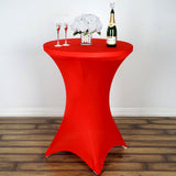 Red Cocktail Spandex Table Cover