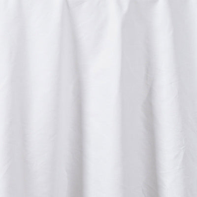 "Chambury Casa *100% Cotton Tablecloth - White 90"" Round"
