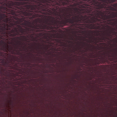 Burgundy Crinkle Taffeta Tablecloth 90x156""
