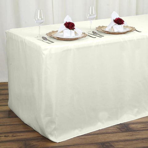 Premium Elastic Spandex Fitted table cloth,customized table cloths,Premium tablecloths,Polyester Table Cloths. Fits 5 ft Banquet Tables