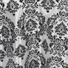 "90"" Round Flocking Damask Tablecloths"