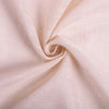 120 inch Linen Round Tablecloth, Slubby Textured Wrinkle Resistant Tablecloth - Blush | Rose Gold#whtbkgd