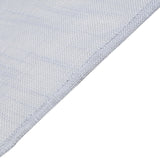 60x126 Silver Linen Rectangular Tablecloth | Slubby Textured Wrinkle Resistant Tablecloth