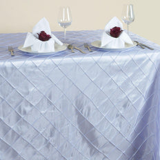Lavender Pintuck Tablecloth 90x156""