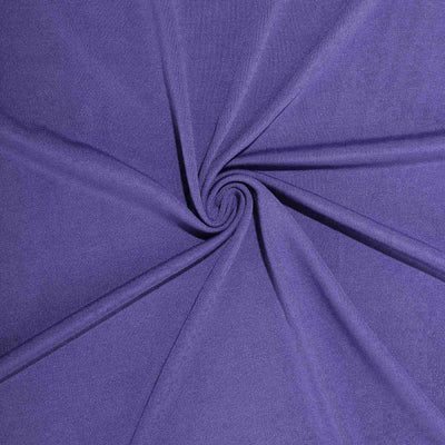 8FT Purple Rectangular Stretch Spandex Tablecloth#whtbkgd
