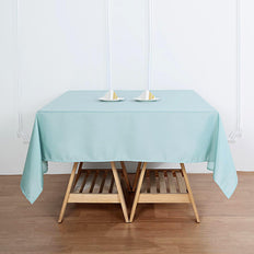 "54"" Dusty Sage Square Polyester Tablecloth"