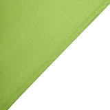 "54"" Apple Green Square Polyester Table Overlay"