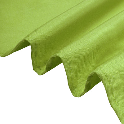 "54"" Apple Green Square Polyester Tablecloth"