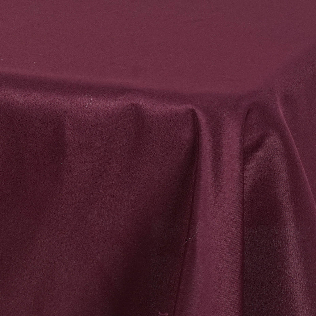 54 Quot Burgundy Premium Square Polyester Tablecloth