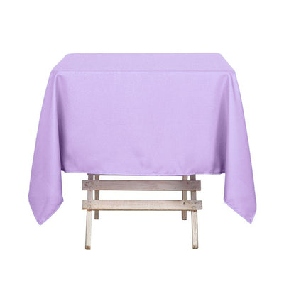 54 Inch | Lavender Square Polyester Tablecloth