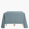 90inch Dusty Blue Square Polyester Tablecloth