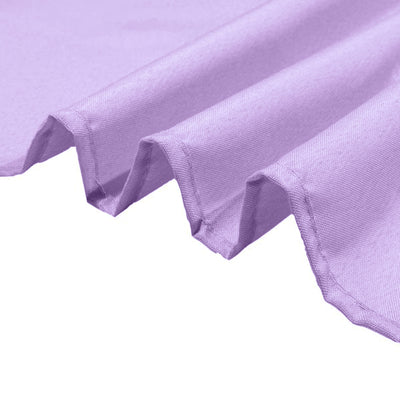 90 Inch | Lavender Square Polyester Table Overlay