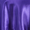 "90"" PURPLE Wholesale SATIN Round Tablecloth For Wedding Banquet Restaurant"