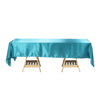Satin Tablecloth, Rectangular Tablecloth, Table Decoration