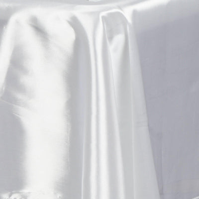 "60x126"" WHITE Wholesale SATIN Banquet Linen Wedding Party Restaurant Tablecloth"