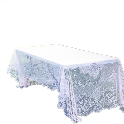 "60""X126"" Premium Lace Blush 