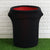New 41-50 Gallons Black Stretch Spandex Round Waste Trash Bin Container Cover