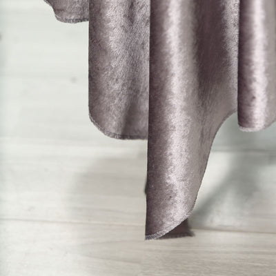 54'' x 54'' | Charcoal Gray | Premium Velvet Square Tablecloth