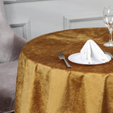 54'' x 54'' | Gold | Premium Velvet Square Table Overlay