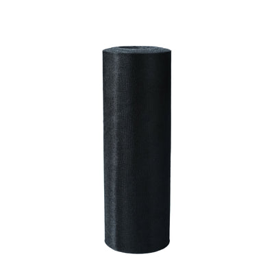 "12"" x 100 Yard Black Tulle Fabric Bolt"