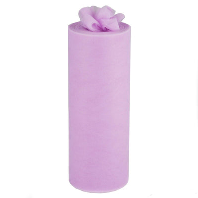 "12"" x 100 Yard Lavender Tulle Fabric Bolt"