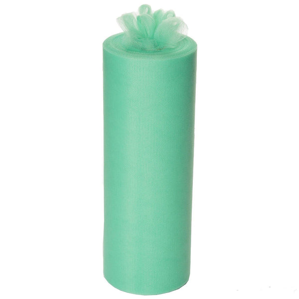 "12"" x 100 Yard Mint Green Tulle Rolls Wholesale"