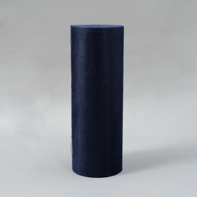 "12"" x 100 Yard Navy Blue Tulle Fabric Bolt"
