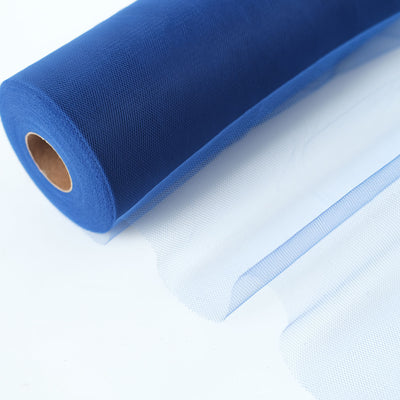 "12"" x 100 Yard Royal Blue Tulle Fabric Bolt"