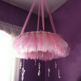 "54"" x 40 Yards Pink Tulle Fabric Bolt"