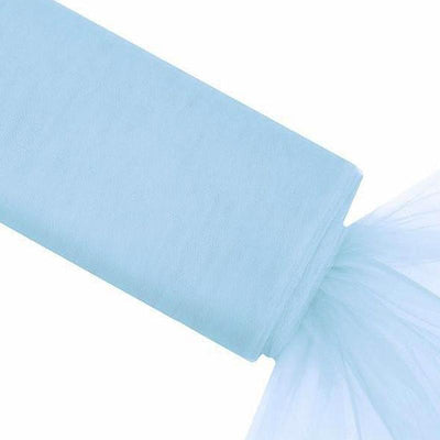 "54"" x 40 Yards Blue Tulle Fabric Bolt"