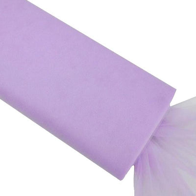 "54"" x 40 Yards Lavender Tulle Fabric Bolt"