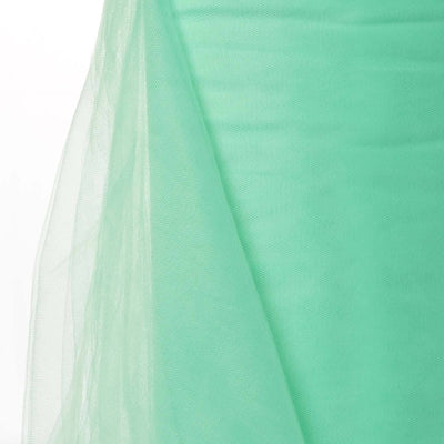 "54"" x 40 Yards Mint Tulle Fabric Bolt"