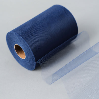 "6""x100yd Tulle Rolls - Royal Blue"