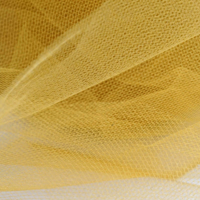 "6""x25yd Tulle Rolls - Gold"