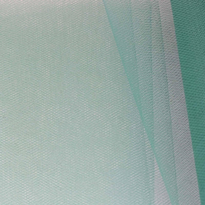 "6"" x 25 Yards Hunter Emerald Green Tulle Fabric Bolt"