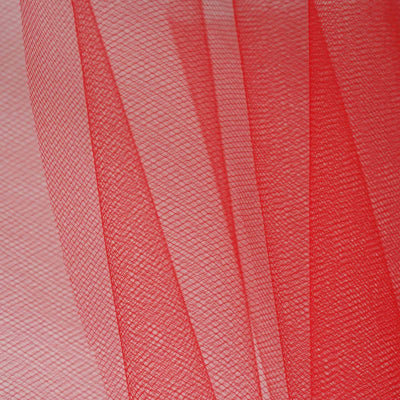 "6""x25yd Tulle Rolls - Red"